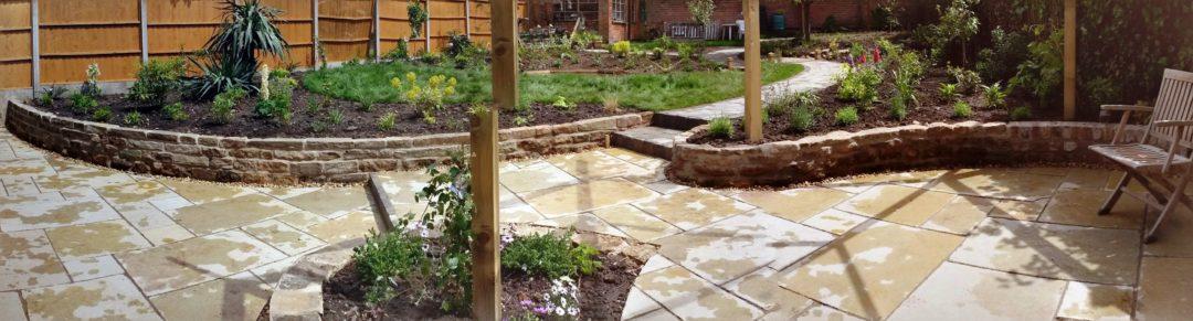 Hugo's Sunny Garden | Leicester Garden Design
